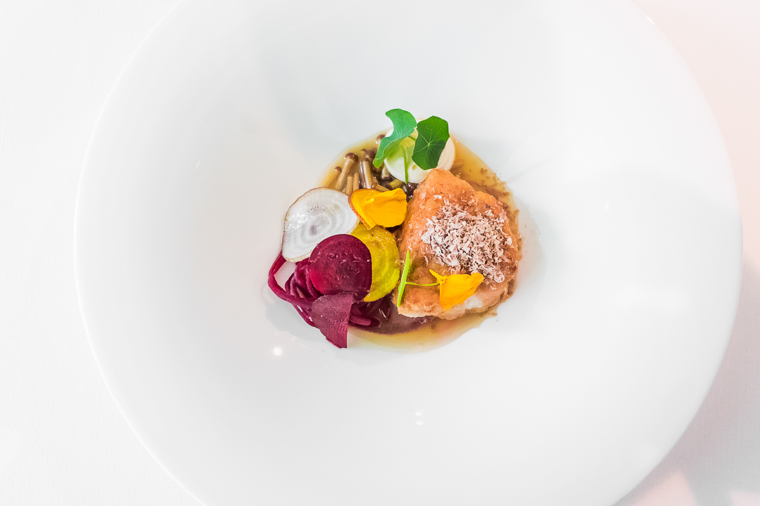 kalf biet aubergine boury restaurant roeselare
