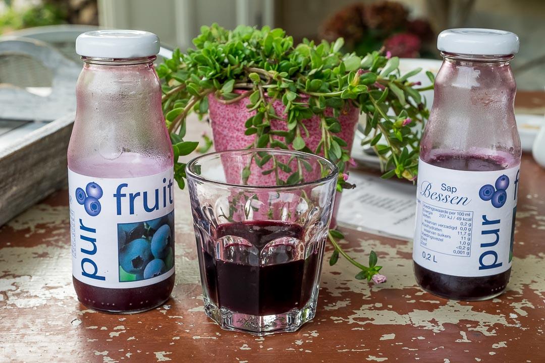 purfruit pluktuin oeselgem blauwe bessen sap
