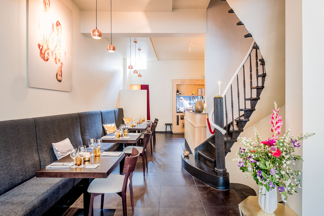 restaurant cochon de luxe gent interieur