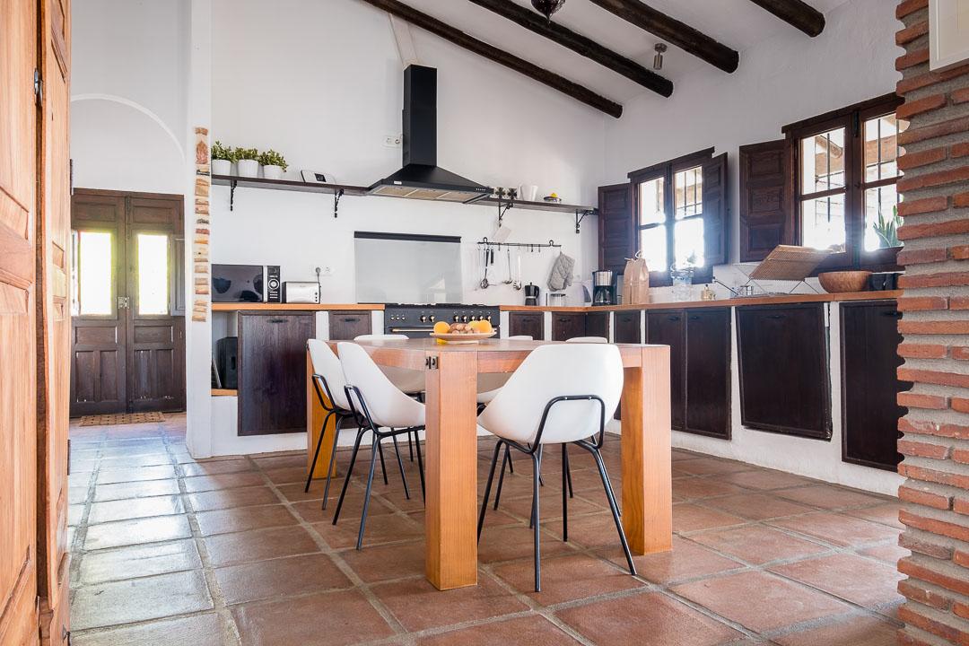 casa lejo andalucia kitchen