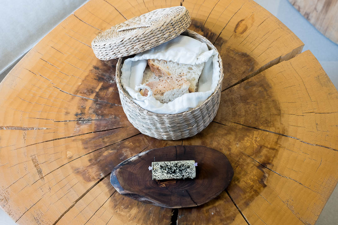 restaurant choco cordoba goat butter bread