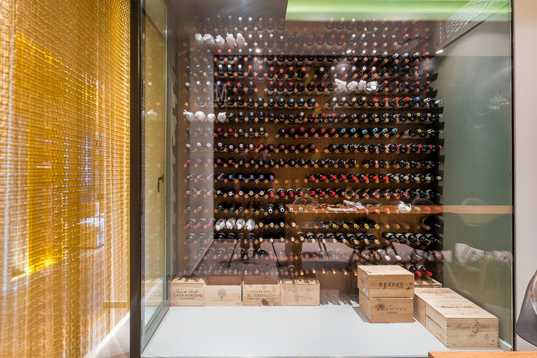 restaurant choco cordoba wine cellar