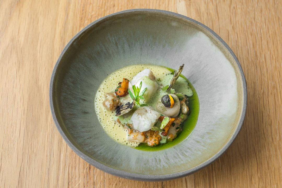 restaurant pure c cadzand monkfish