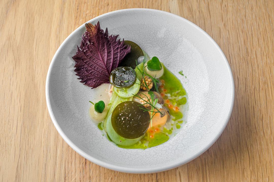 restaurant pure c cadzand mussel marinade