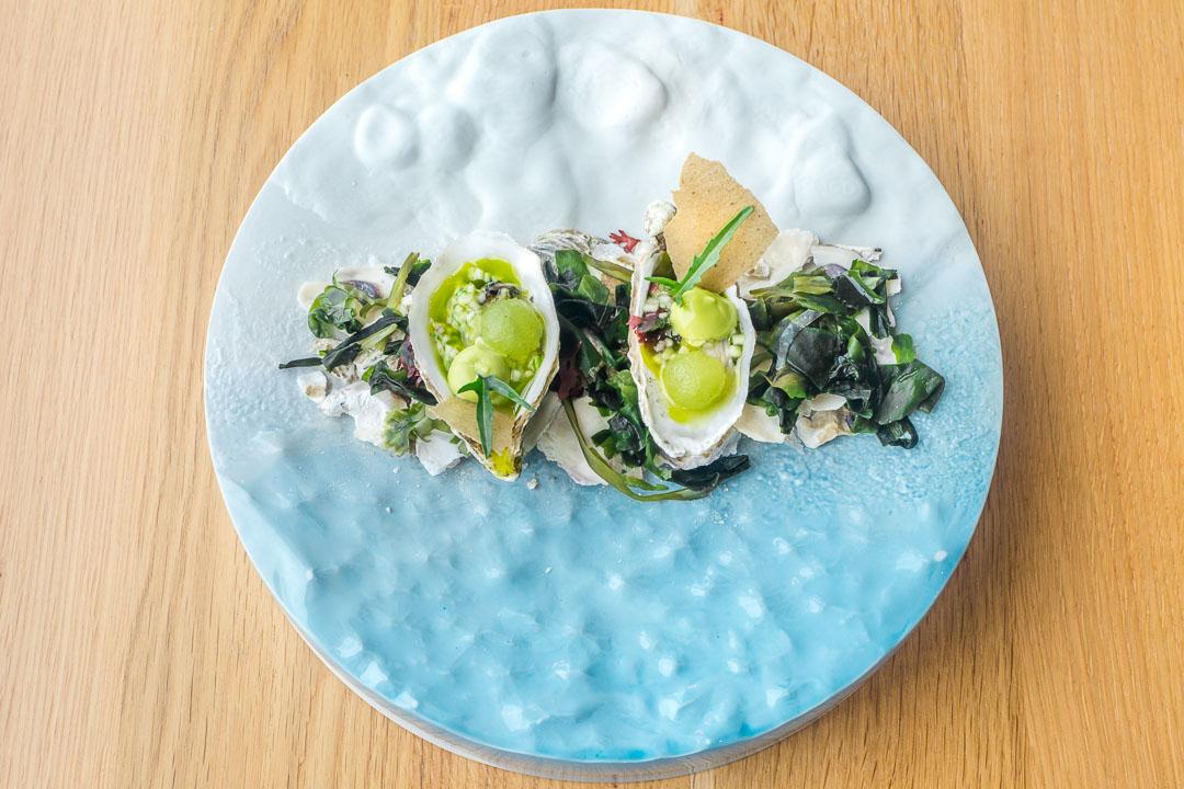 restaurant pure c cadzand oyster hierbas