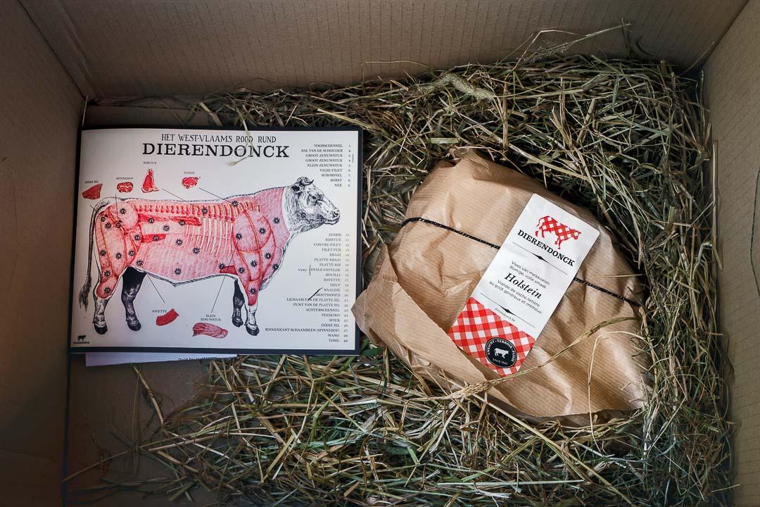 dierendonck pop-up verpakking doos