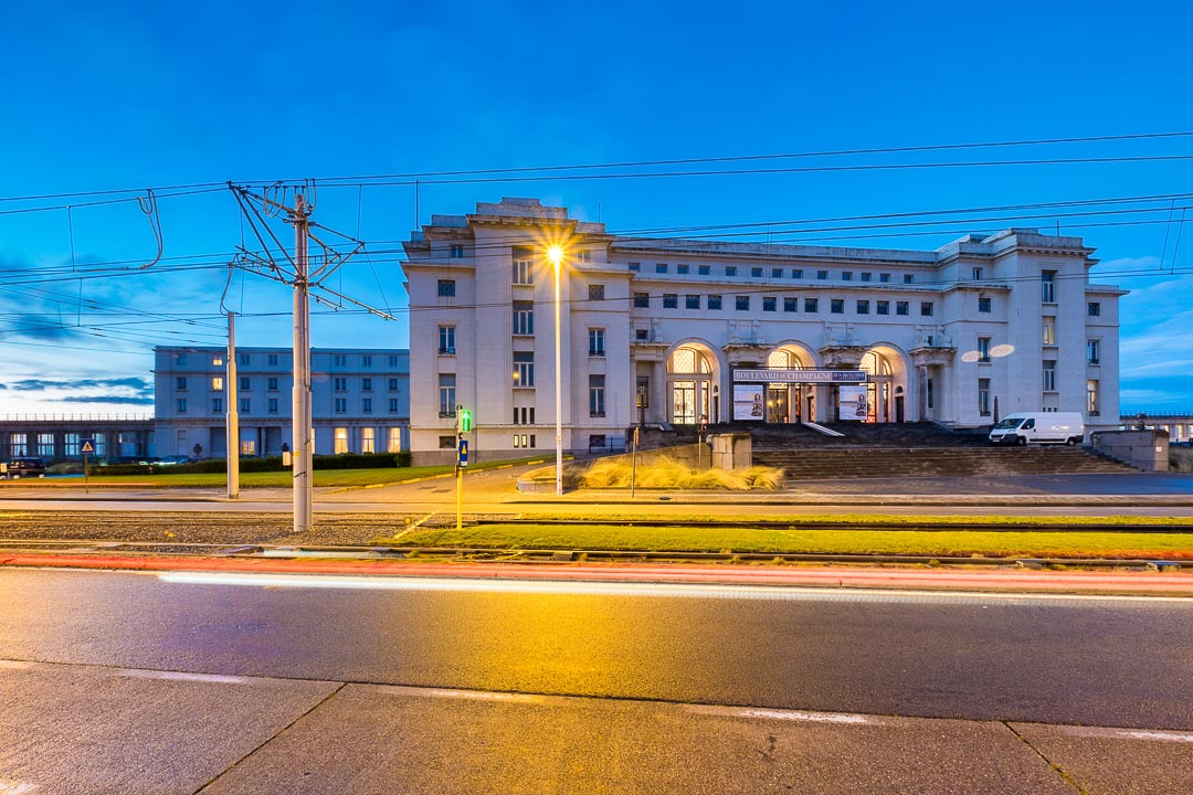thermae palace hotel oostende gebouw