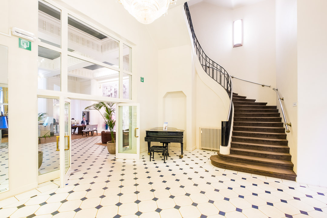 thermae palace hotel oostende lobby