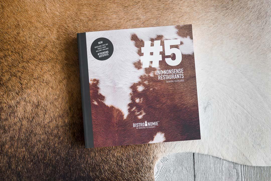 Bistronomie Gids #5 lancering cover boek