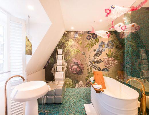 Hotel De Witte Lelie Antwerpen badkamer