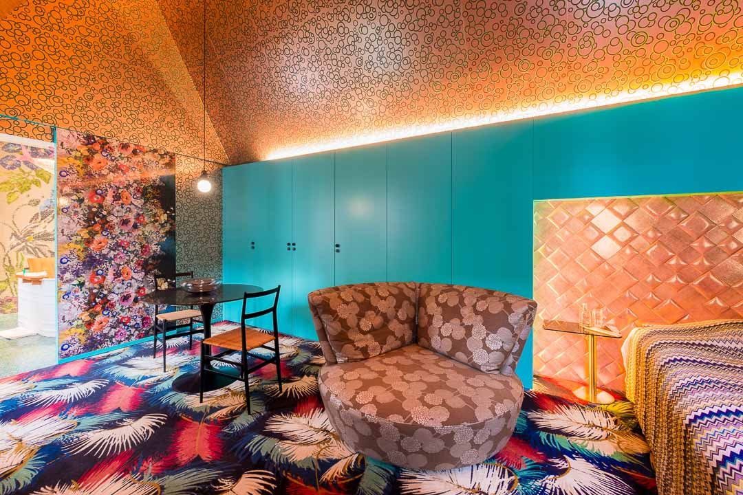 Hotel De Witte Lelie Antwerpen slaapkamer