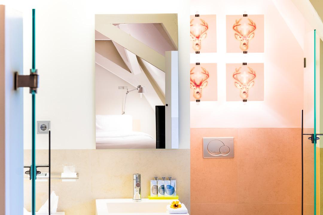 Kruisherenhotel Maastricht badkamer