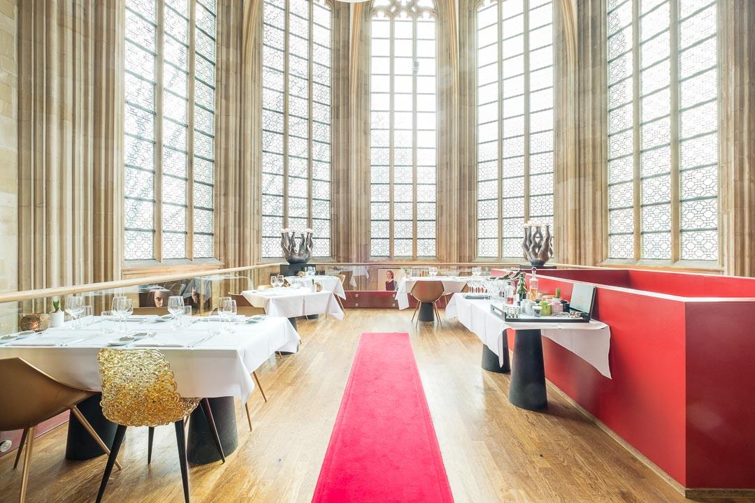 Kruisherenhotel Maastricht interieur restaurant