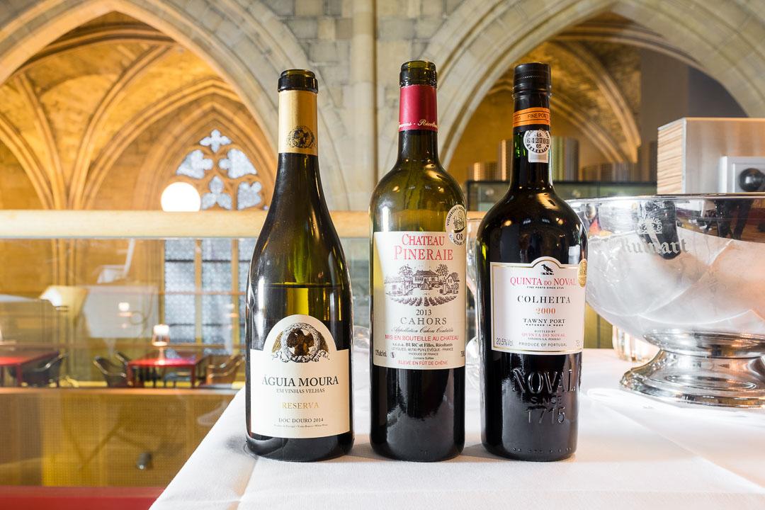 Kruisherenhotel Maastricht wijnselectie