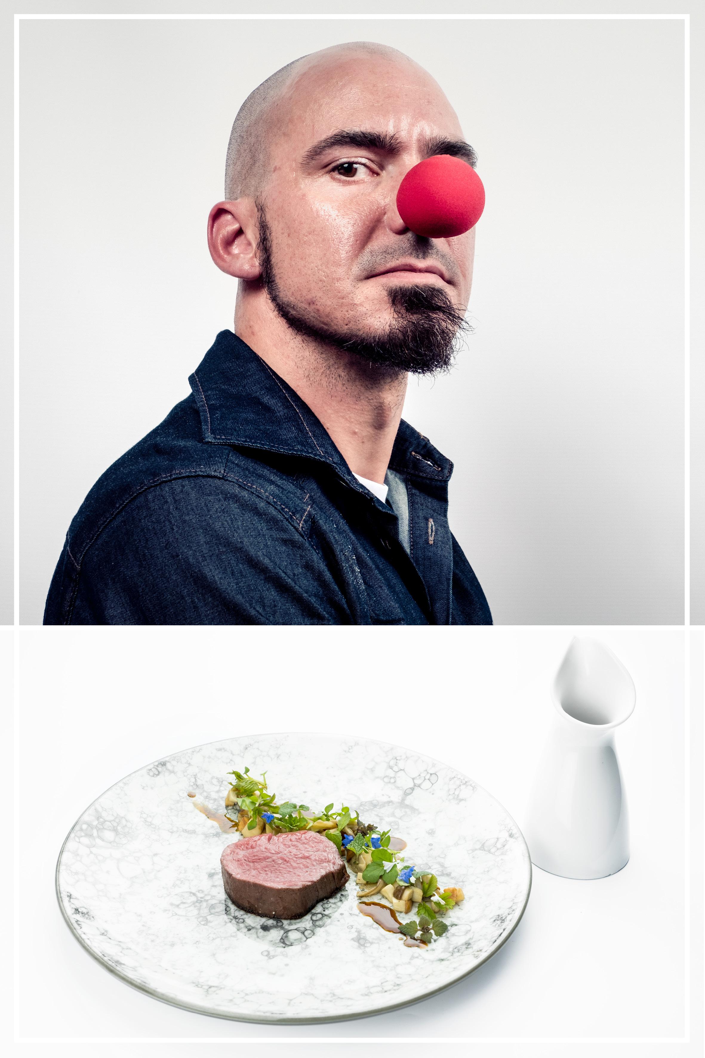 Timo Fritsche Thomas Buhner la vie restaurant koken voor cliniclowns