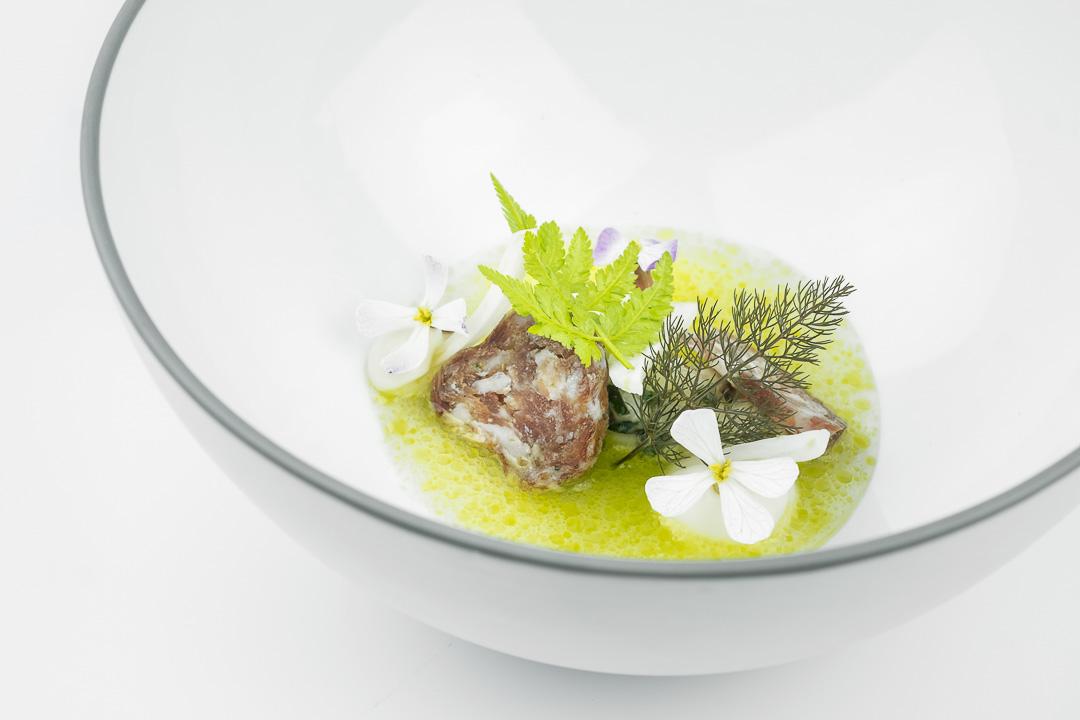 fregolasalade venkelworst parmesaan