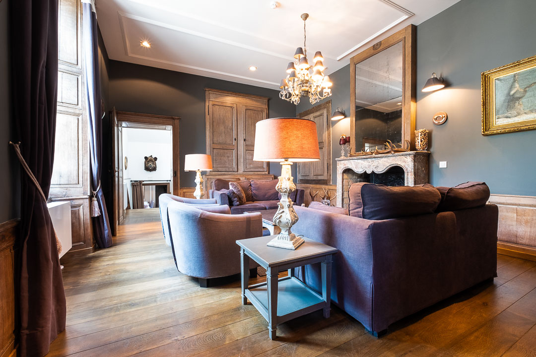 Chateau de Grandvoir hotel salon