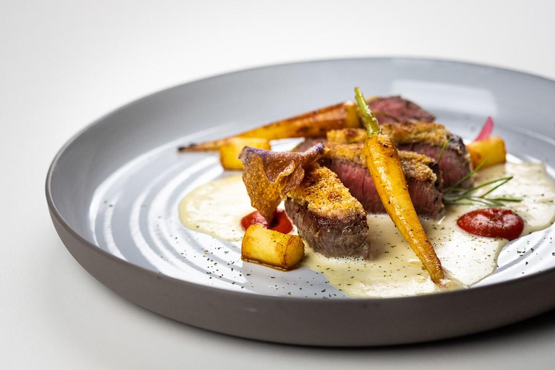 Chateau de Grandvoir restaurant vlees