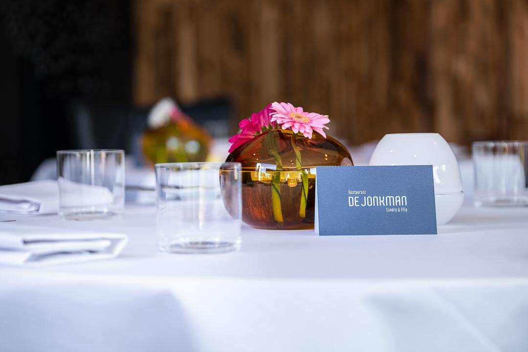 Restaurant De Jonkman tafel