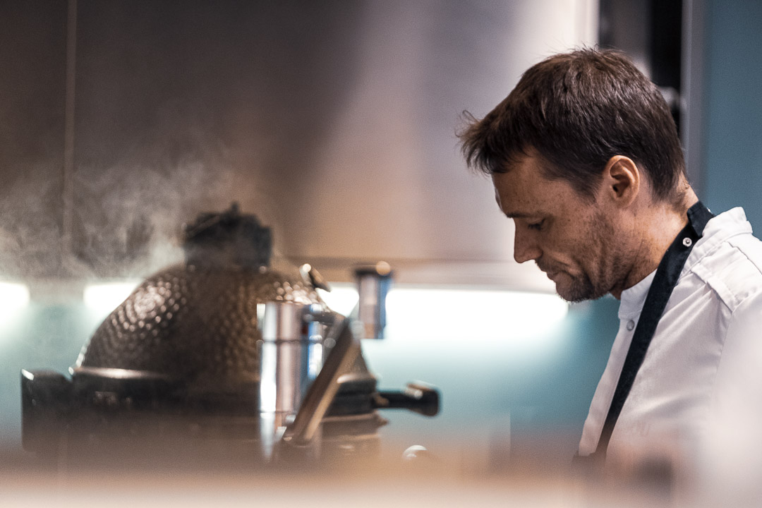 Restaurant De Jonkman Filip Claeys cooking