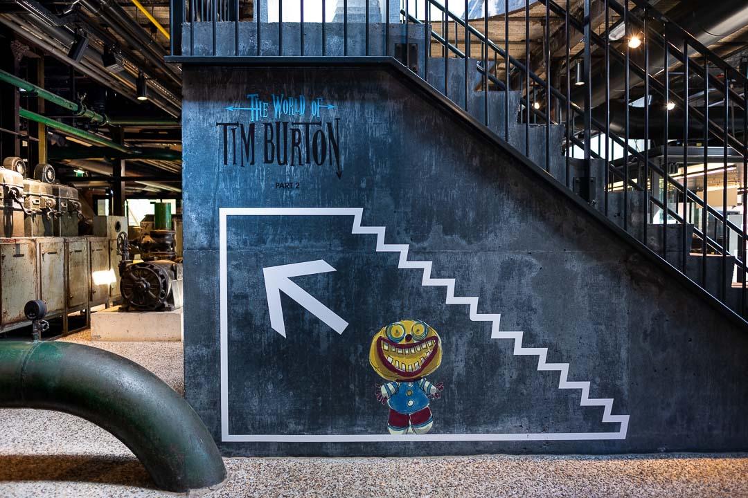 Vist Genk C-mine Tim Burton