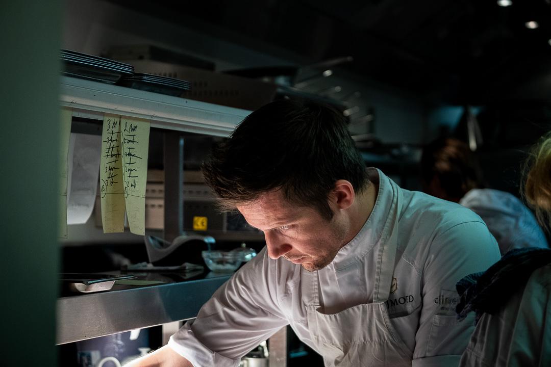 Restaurant Chef Michaël Vrijmoed keuken