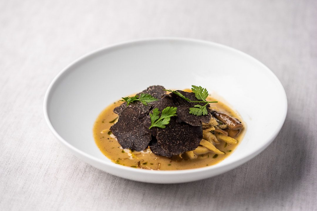 Spätzle & black winter truffle