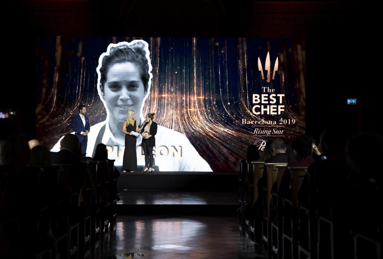 The Best Chef Awards 2019: the highlights. Awards Gala. Pía León.