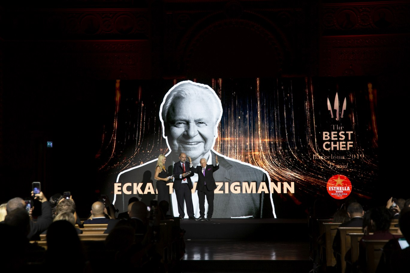 The Best Chef Awards 2019: the highlights. Awards Gala. Eckart Witzigmann.