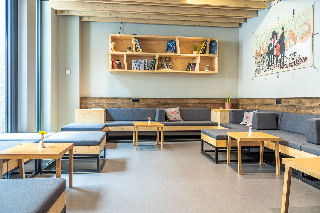 Schwabinger Wahrheit Munich by Geisel by Hungry for More. Meeting place. Cosy corner.