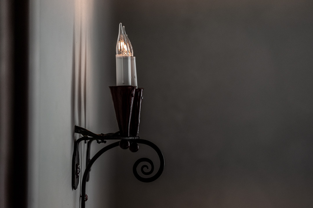 Werneckhof Munich by Hungry for More. Interior. Wall light fixture.