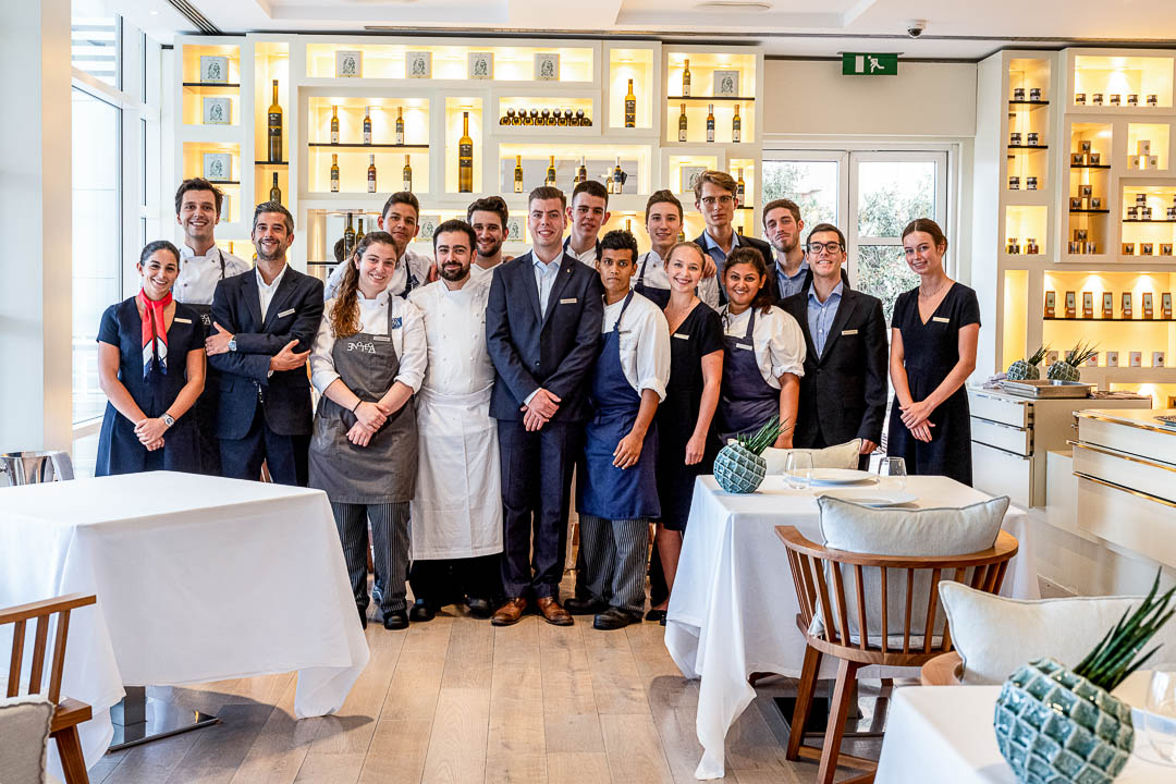 Enoteca Paco Pérez by Hungry for More. Picture of the whole team.