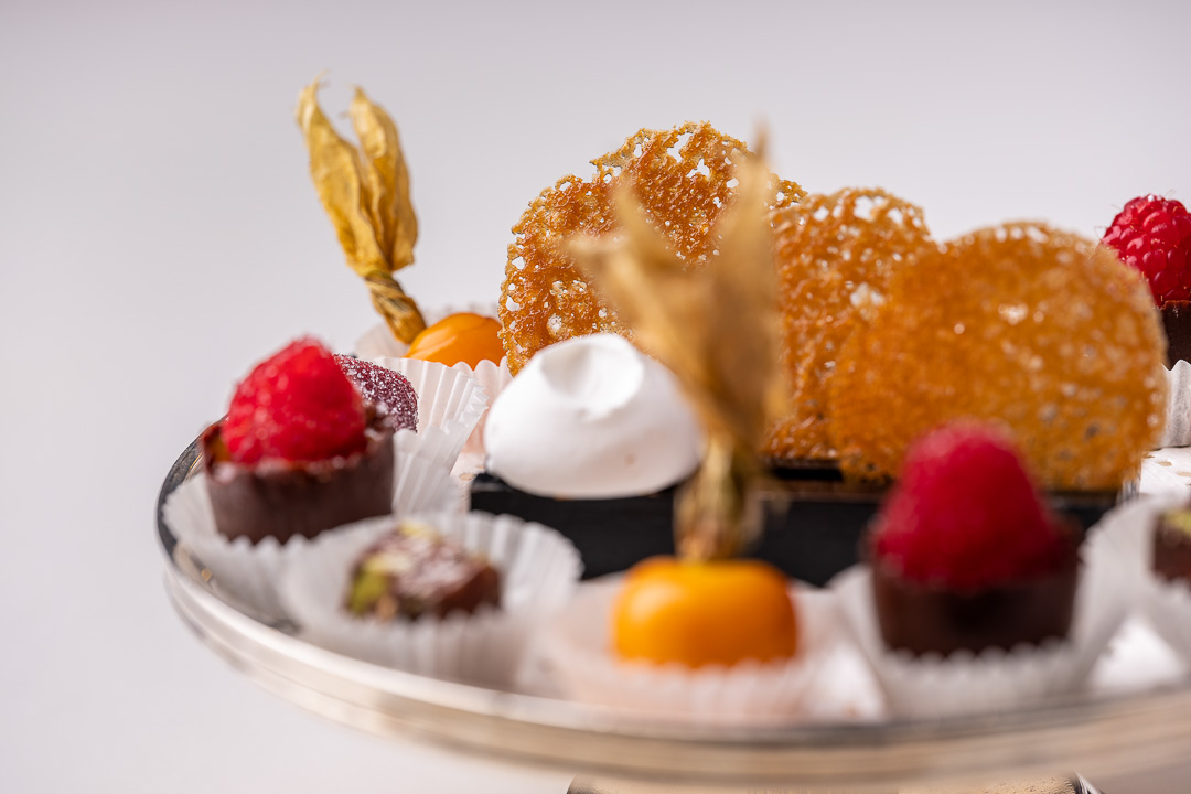 La Truffe Noire by Hungry for More. Details of the mignardises by chef Luigi Ciciriello.