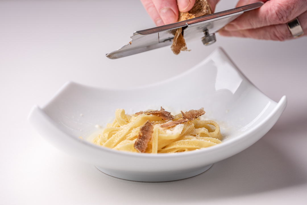 La Truffe Noire by Hungry for More. Fresh pasta with truffle by Luigi Ciciriello.