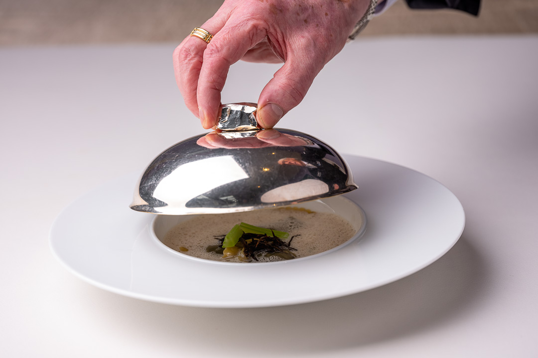 La Truffe Noire by Hungry for More. Ravioli dish by chef Luigi Ciciriello.