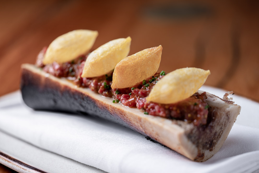 Suculent by Hungry for More. Steak tartare by chef Antonio Romero.