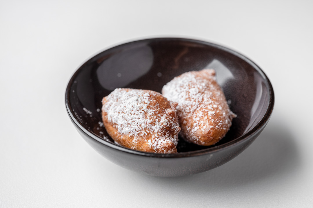 Kommilfoo by Hungry for More. Beignets by chef Olivier de Vinck.