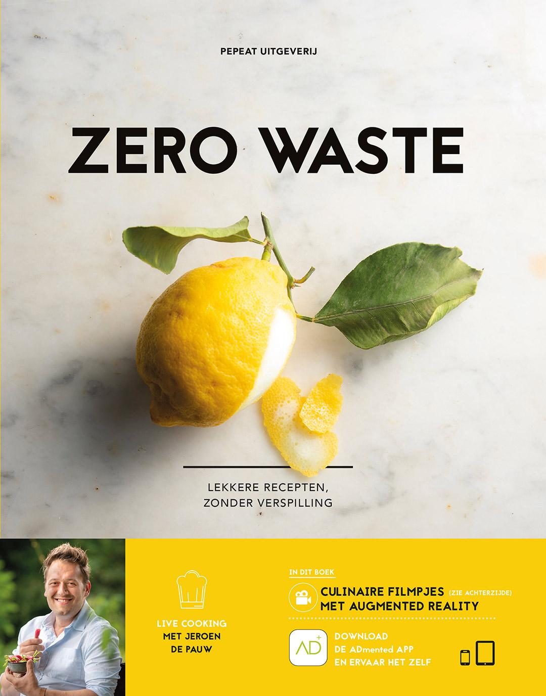 Cover of the Zero Waste cookbook.