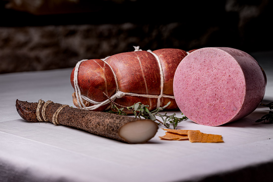 Aponiente by Hungry for More. Marine charcuterie. Front view.