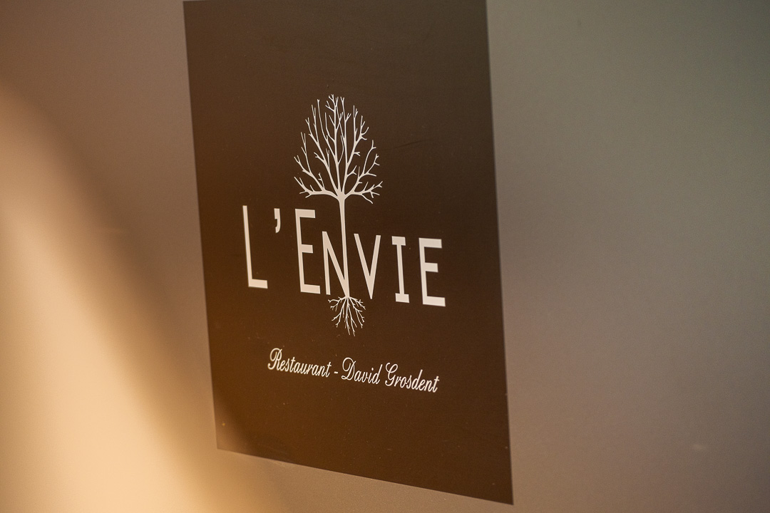 L'Envie by Hungry for More. Logo of the restaurant.