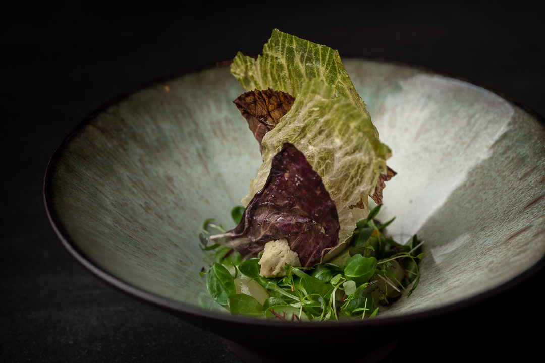 The White Rabbit by Hungry for More. Beginning-end dish by chef Vladimir Mukhin.
