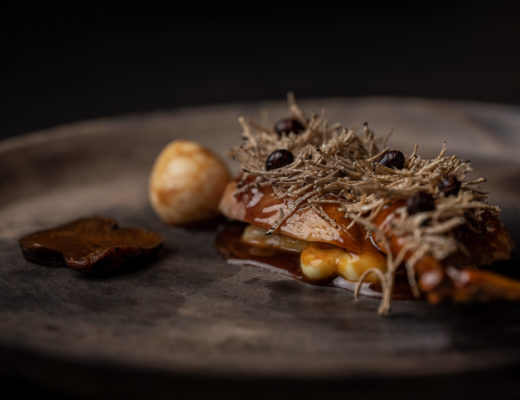 The White Rabbit by Hungry for More. Details of the end-beginning dish by chef Vladimir Mukhin.