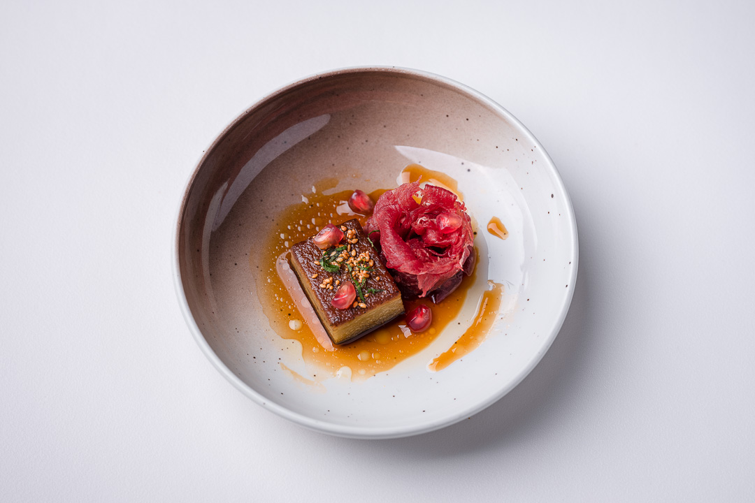 Alain Bianchin by Hungry for More. Top shot of the Holstein beef by chef Alain Bianchin.