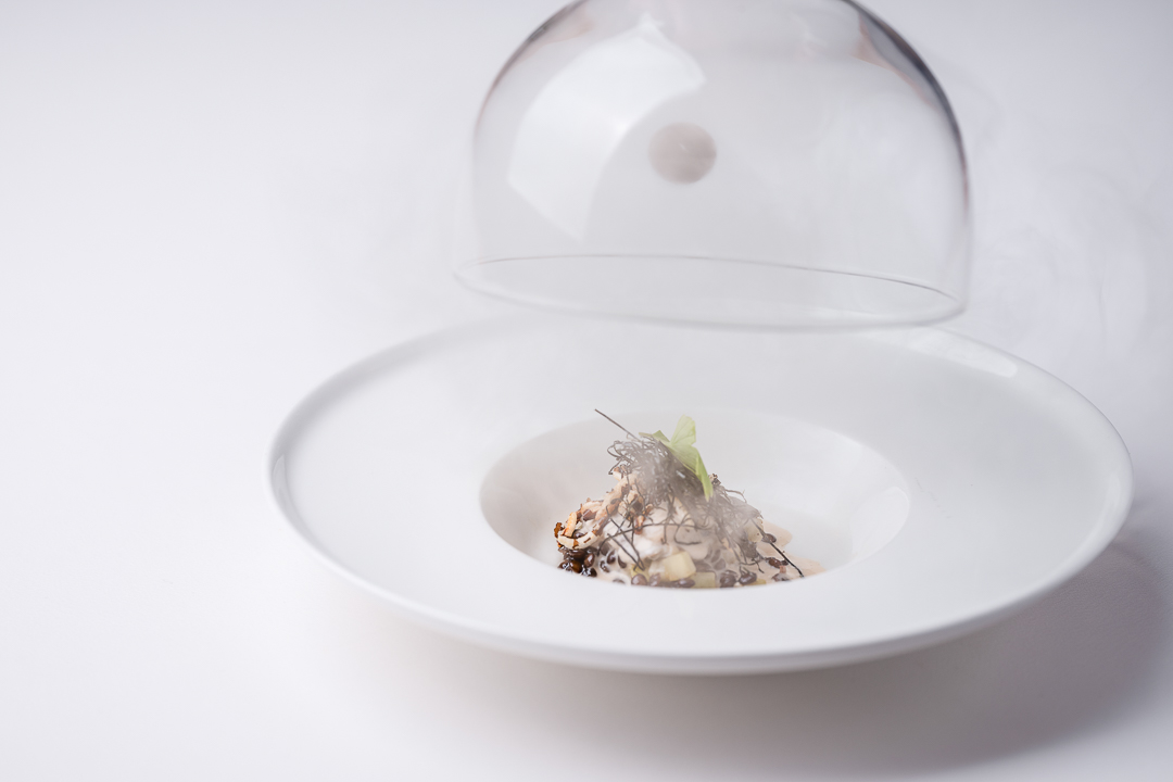 Alain Bianchin by Hungry for More. Oyster dish by chef Alain Bianchin.