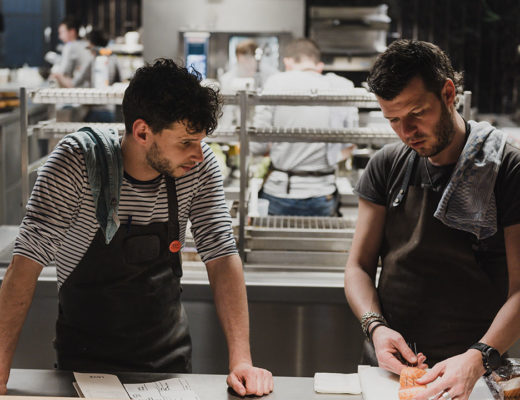 LESS by Hungry for More. Chefs Gert De Mangeleer and Ruige.