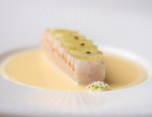 Vinkeles by Hungry for More. Dover sole dish by chefs Dennis Kuipers and Jurgen van der Zalm.
