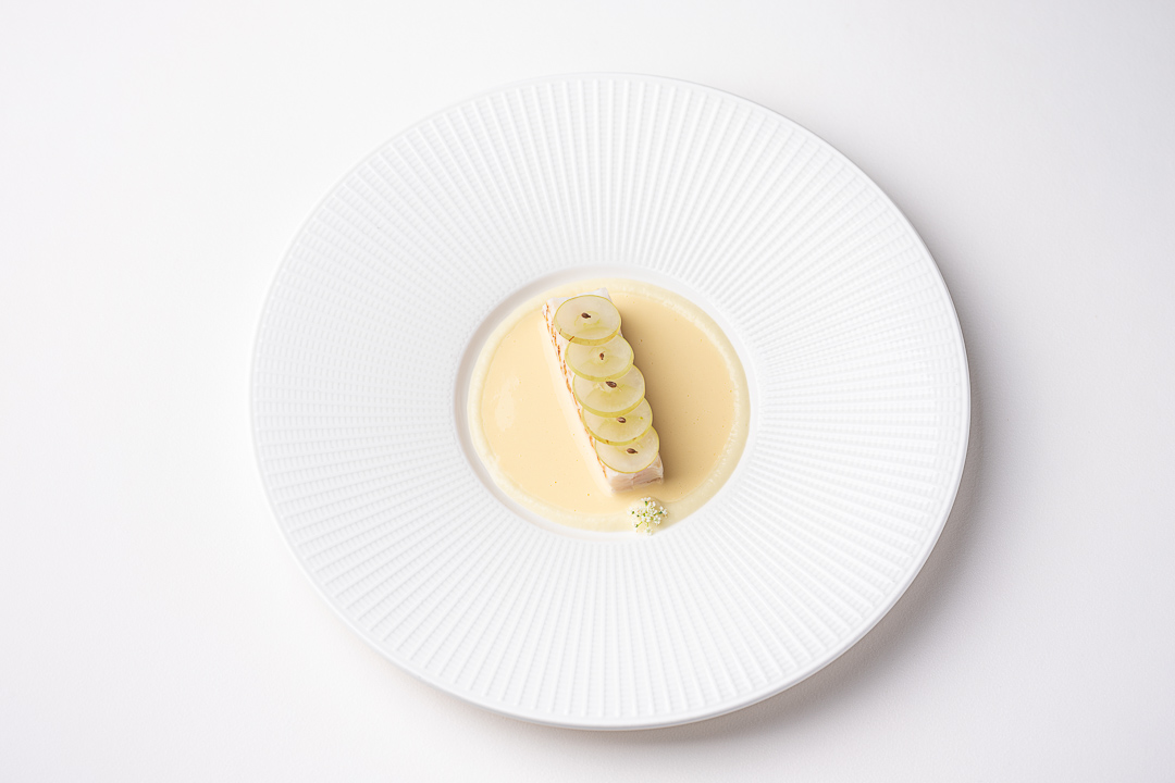 Vinkeles by Hungry for More. Top shot of the dover sole dish by chefs Dennis & Jurgen.