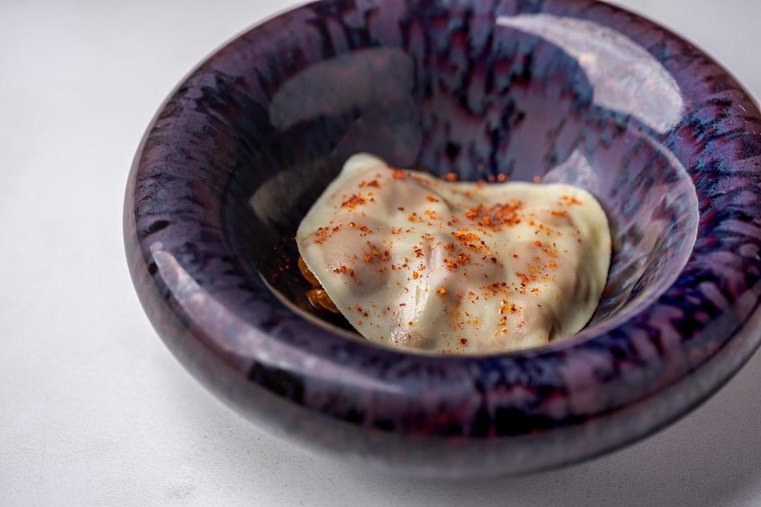 Gaytan by Hungry for More. Detail of the ravioli.