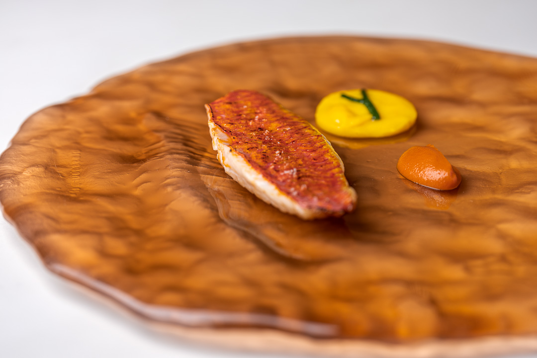 Gaytan by Hungry for More. Detail of the red mullet.