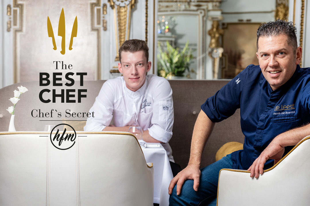 The White Room by Hungry for More. The Best Chefs Jacob Jan Boerma and Randy Karman.